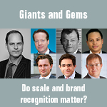 Giants and Gems - Do scale and brand recognition matter?