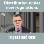 Evolution of distribution under new regulations