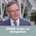 ESMA views on delegation