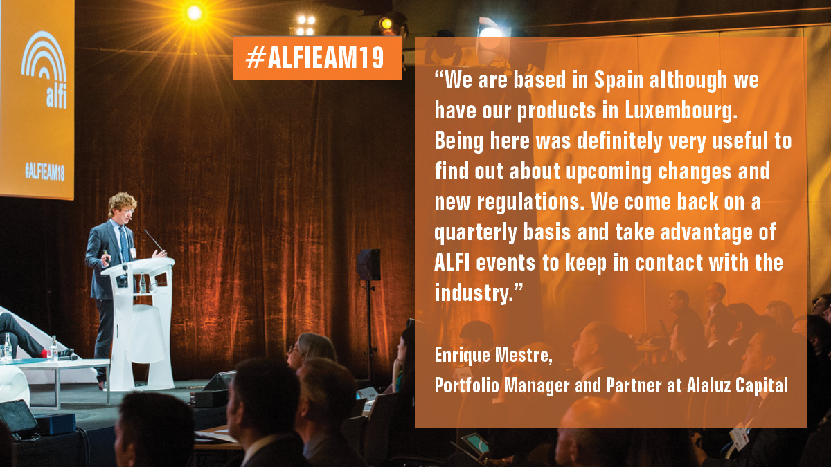 Why companies choose to attend the ALFI European Asset Management Conference